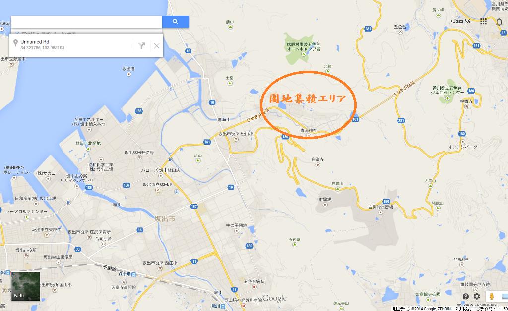 青海町地図